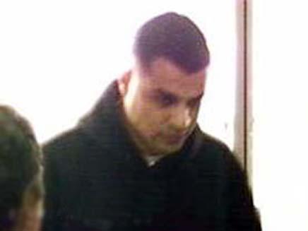חשוד בשוד בנק (צילום: משטרת מחוז תל אביב)