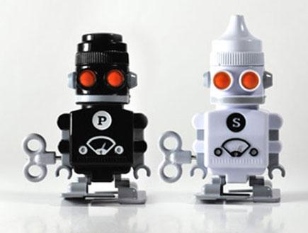 רובוטים מלח פלפל (צילום: האתר הרשמי)