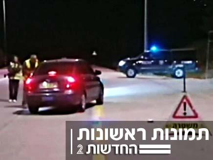 תקרית ירי בכיסופים (צילום: חדשות 2)