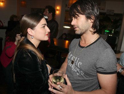 אירוע הבורר 3 - יהודה לוי ואניה בוקשטיין (צילום: אלעד דיין)