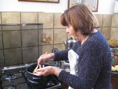 דולי במטבח