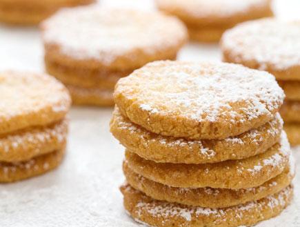 עוגיות שקדים ולימון (צילום: דניאל לילה, מאפיית לחמים)