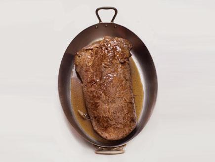 צלי בקר (צילום: דניאל לילה, על השולחן)