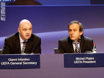 """פלאטיני ואינפנטינו היום במסע""""ת בת""""א (אלעד ירקון) (צילום: מערכת ONE)"""