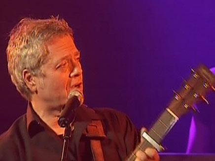 שלמה ארצי בהופעה (צילום: חדשות 2)