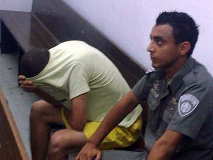 רמי עובד החשוד בירי על פלקיס חלפון (צילום: גלעד שלמור, חדשות 2)