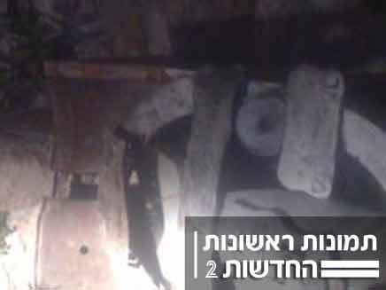 השחתת אנדרטה לזכר נפגעי פיגוע קו 18 ירושלים (צילום: יוסי זילברמן)