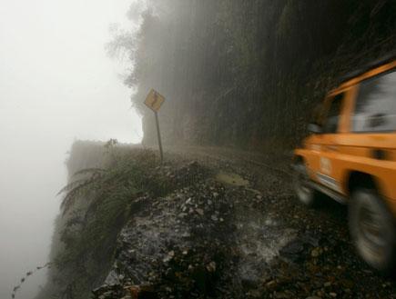 דרך המוות - בוליביה (צילום: Spencer Platt, GettyImages IL)