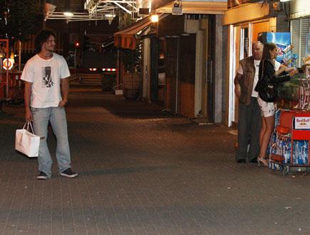 איילה רשף עם טומי 2 (צילום: אלעד דיין)
