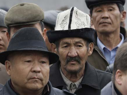 הפיכה בקריגיסטאן? (צילום: AP)