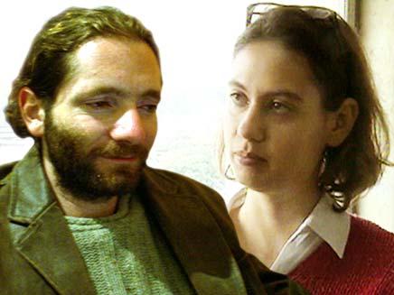 ענת קם והעיתונאי אורי בלאו (צילום: חדשות 2)
