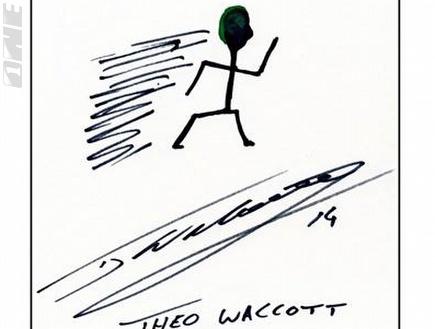 וולקוט - עושה הרבה רוח מאחוריו ואוהב את האור הירוק ברמזור (צילום: מערכת ONE)