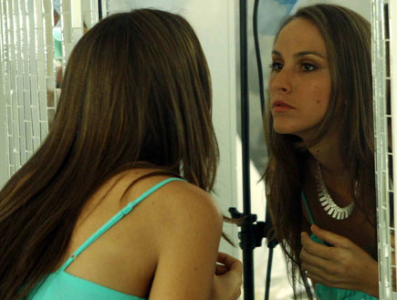 איילה רשף וג'י שמש ללוריאל (צילום: עודד קרני)