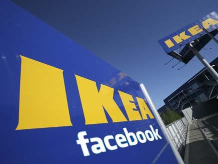איקאה ופייסבוק (צילום: רויטרס)
