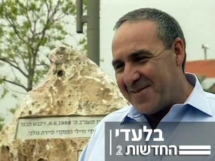 """משה קפלינסקי סגן הרמטכ""""ל לשעבר (צילום: חדשות 2)"""