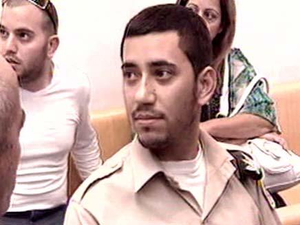 אלמוג בוחבוט בבית משפט (צילום: חדשות 2)