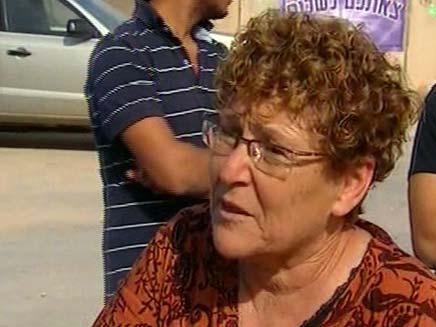 """מרים פרץ אמו של אלירז פרץ ז""""ל (צילום: חדשות 2)"""