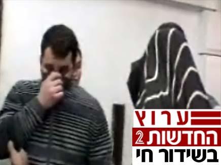 החשודים ברצח אריה גזית (צילום: חדשות 2)