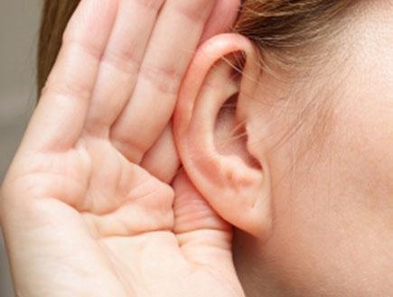 קלוז אפ על אוזן (צילום: istockphoto)