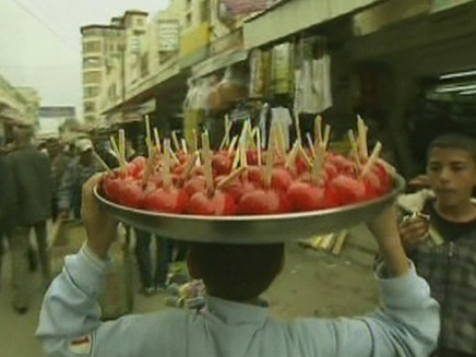 השוק בג'נין (צילום: חדשות 2)