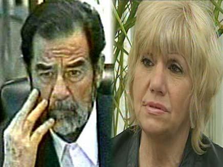 פילגשו לשעבר של סדאם חוסיין (צילום: חדשות 2)