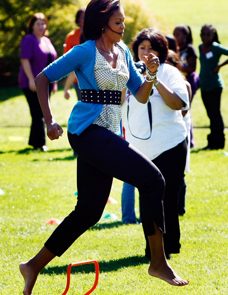 הירכיים של מישל אובמה (צילום: Win McNamee, GettyImages IL)