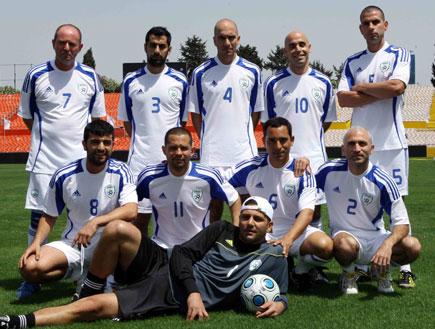 ארץ נהדרת בטורניר כדורגל 5 (צילום: עודד קרני)