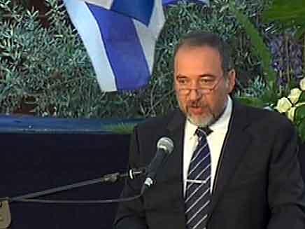 """ליברמן, """"ירושלים לא לחלוקה"""" (צילום: חדשות 2)"""