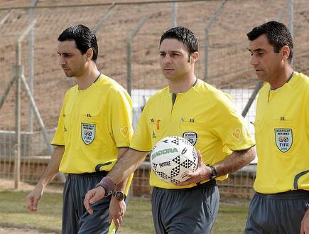 הצוות הקפריסאי מהשנה שעברה. שוב במשחק חשוב של הלאומית (אלעד ירקון) (צילום: מערכת ONE)