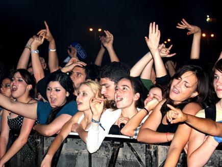 קהל, רוק עצמאות 1 (צילום: אדם קמינסקי)