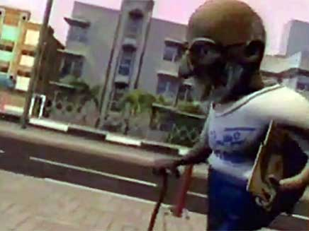מתוך סרטון חמאס על נועם שליט (צילום: חדשות 2)