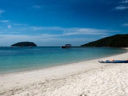 חוף ים 1 - בורנאו (צילום: istockphoto)