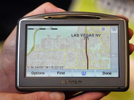 במקום GPS - נווטן (צילום: חדשות 2)