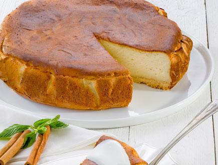 עוגת גבינת עיזים אפויה (צילום: שי אפגין,  יחסי ציבור )