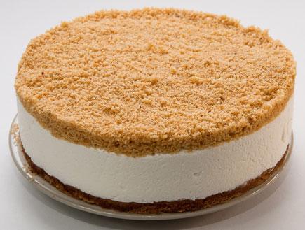 עוגת גבינה פירורים (צילום:  יחסי ציבור )