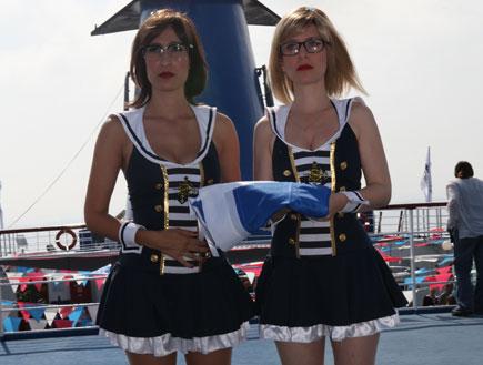 עלמה זק ושני כהן על סיפון