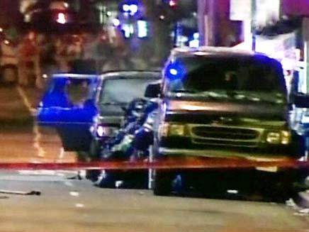 מכונית תופת בלב ניו יורק, ארכיון (צילום: חדשות 2)