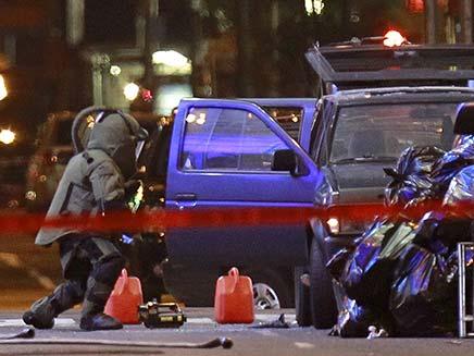 מכונית תופת בכיכר טיימס. ארכיון (צילום: רויטרס)