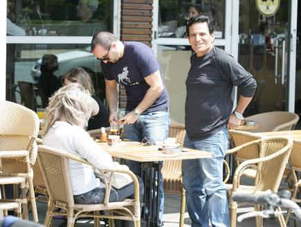 יוסי וורד בובליל בפגישה עם נאור ציון3 (צילום: אלעד דיין)