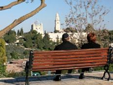 תצפית לירושלים (צילום: istockphoto)