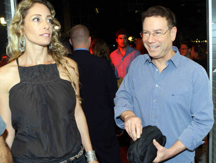 גדי סוקניק ואשתו - הופעה של עברי לידר (צילום: עודד קרני)