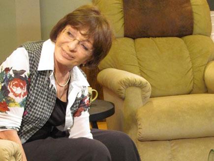 רבקה מיכאלי בשבת צחוק (צילום: mako)