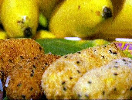 פירות בציפוי קוקוס מנומר