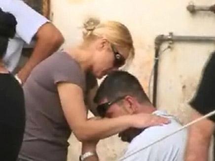 קשיש נרצח בשכונת התקווה (צילום: עזרי עמרם)