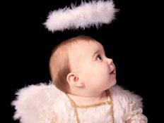 תינוק מלאך (צילום: istockphoto)