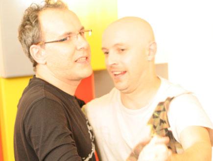 אבי נוסבאום ושי גולדשטיין רוקדים (צילום: אלדד רפאלי)