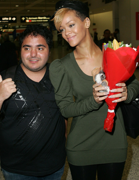 ריהאנה - סלבס בשדה תעופה (צילום: אימג'בנק/GettyImages, getty images)