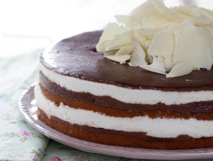 עוגת מסקרפונה ושוקולד (צילום:  יחסי ציבור )