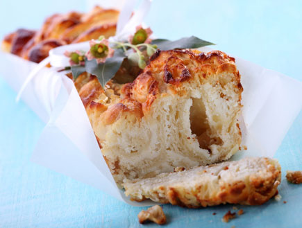 עוגת גבינה שמרים (צילום: דן פרץ)