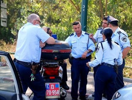 משטרה. בכיר בכדורסל הישראלי נעצר (צילום: מערכת ONE)